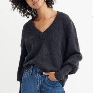 MADEWELL Dashwood V-Neck Sweater Medium